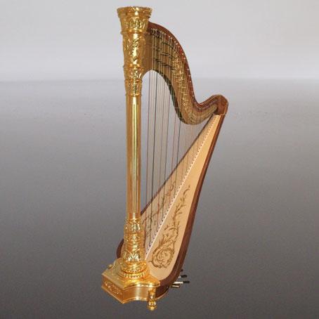 Sheet music for harp